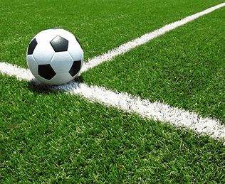 Sztuczne boisko do piłki nożnej, boisko do gry, pole golfowe lub boisko sportowe