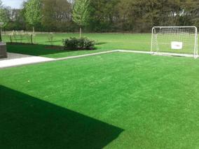 Voetbalveld sportveld speelveld kunstgras