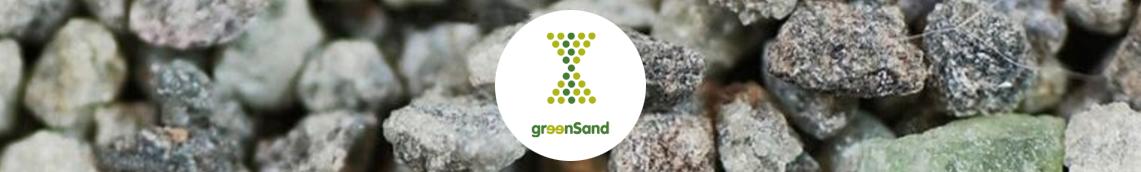 GreenSand logo duurzaam kunstgras